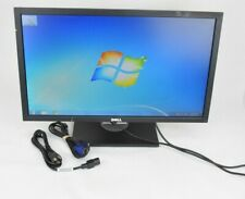 "Dell P2411Hb 24"" LCD Monitor with Cables VGA Grade B"