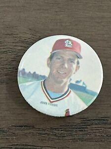 1986 Star Baseball Buttons John Tudor St. Louis Cardinals