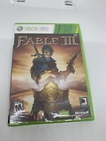 Fable III 3 Microsoft Xbox 360 - Brand New Factory Sealed Free Shipping!!