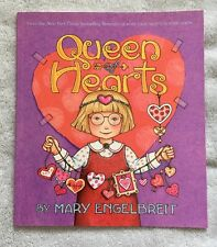 Signed QUEEN OF HEARTS Autographed by Mary Engelbreit (2008, Paperback) 1st Ed