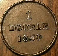 1830 GUERNESEY 1 DOUBLE - Really nice!