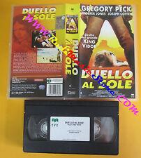 VHS film DUELLO AL SOLE Gregory Peck Jennifer Jones Cotten CVC (F130) no dvd