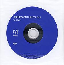 Adobe Contribute CS4 for Windows – (DVD & License)