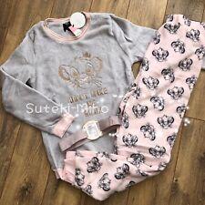 Primark Ladies Fleece Pyjamas DISNEY LION KING Cosy Warm Winter PJ Sets Size XS