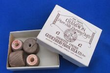 Vintage Adverting Box Champion Pure Silk Darning Outfit 4 Spools Thread Gudebrod