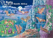 South Africa 2001 Mi.No. 1375 - 84 Südafrika Animals Bats 10 V Mnh 6,00 €