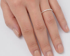 USA Seller Tiny Band Ring Sterling Silver 925 Plain Best Deal Jewelry Size 7