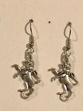 LION Earrings Surgical Hook New King of the Jungle (B)