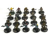 Mage Knight STEAMPUNK MINIATURE LOT x20 D&D Minis Dungeons Black Powder Rebels 7