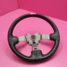 1990 Nissan 300zx steering wheel *leather is worn* see photos (a-3)