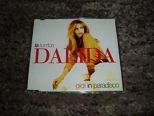"Dalida rare cd maxi single 4 remixes ""la tumba & gigi in paradisco"""