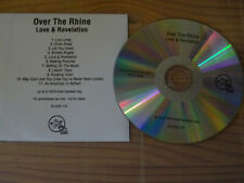 OVER THE RHINE - LOVE & REVELATION / ADVANCE-ALBUM-CD 2019