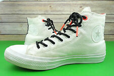 Converse Chuck Taylor Mens US 8 All Star II Shield Canvas Sneakers 153534C White