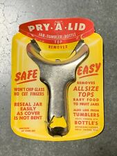 Pry A Lid Jar Tumbler Bottle Canning/Prepper Top Remover|NEW OLD STOCK| VINTAGE!