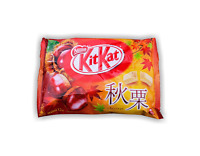 KIT KAT CHESTNUT | Rich white chocolate covered wafers | Limited offer in Japan