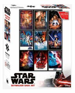 Star Wars Luke Skywalker Saga Art Jigsaw Puzzle 1000 Piece Disney BRAND NEW