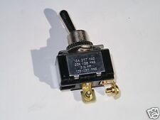 POLLAK 34571 SPST Toggle Switch On-Off w/screws 8641 E-60272 LR-39145 20A @ 125V