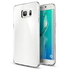 Pour Samsung Galaxy S6 Edge Coque Etui Gel Silicone Tpu Lisse Transparent