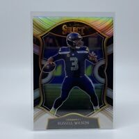 RUSSELL WILSON 2020 Select Football SILVER PRIZM #4