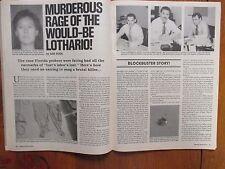 """1989 """"Master Detective"""" Mag(JEFFREY BRIAN HAMPTON/H.W.CHIEF JORDAN/RICARDO LONG)"""