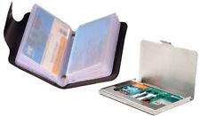 Leather & Steel ATM Card, Debit Card Holder