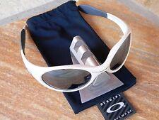Oakley Trench Coat Pearl Black over Mars Eye Jacket Romeo Juliet Plate Medusa XX