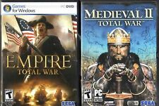 Empire: Total War (PC, 2009) / Medieval II: Total War (PC, 2006)