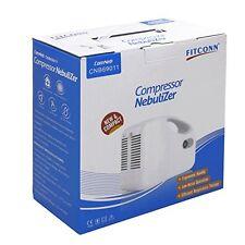 Portable Compressor Nebulizer System Kit Cool Mist Inhaler For Kids Adults
