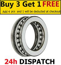 51100 - 51118 Thrust Ball Bearings - ALL SIZES