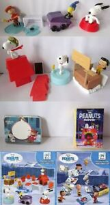 SNOOPY & FRIENDS (MAXI) COMPLETE SET WITH ALL PAPERS KINDER SURPRISE 2015