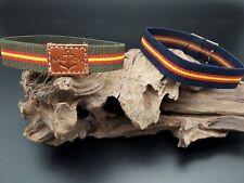 Pulsera bandera España ELASTICA 18cm Española pulseras cordon trenzado elástico