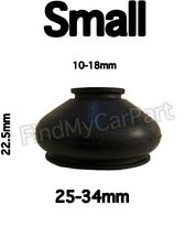 FIAT BRAVA RUBBER DUST CAPS - BALL JOINT BOOTS - 2 X SMALL
