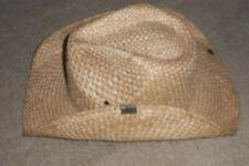 Peter Grimm natural straw one size Maverick cowboy hat