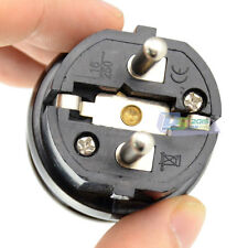 Schuko European High Power Rewireable Plug 250V 16 Amp CCE 7/7 Standard Plug