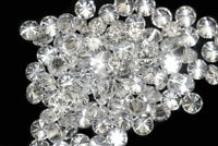 100% Natural Loose Diamonds Round 50 Pcs Lot I1-I3 Clarity G-H White Color