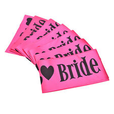 1pcs Bride to Be Writing Satin Sash Decor Hens Night Bachelorette Party Z