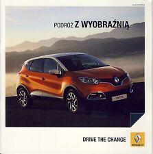 Renault Gamme 2013 catalogue brochure Fluence Scenic Captur