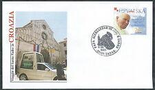 2003 VATICANO VIAGGI DEL PAPA CROAZIA ZADAR - SV11-2