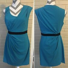 Cynthia Steffe Blue black Bodycon Formal Dress Size Ladies 6 Prom Gown Dance