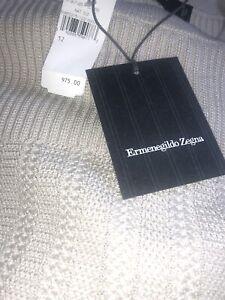 Ermenegildo Zegna Wool-Silk Sweater Size L NWT $975