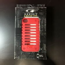 Oakley O Matter Case Red iPhone 4 4S Unobtainium Authentic NEW