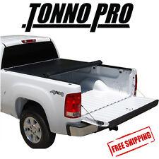 Tonno Pro Lo-Roll Soft Tonneau Cover Fits 2015-2017 GMC Sierra 2500 3500 8' Bed