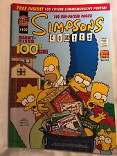 Simpsons Comics #100 (2006) Giant Sized 100th Issue! 100 Fun Packed Pages
