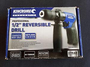 "Genuine Kincrome K13510 Pnuematic 1/2"" Reversible Air Drill w/Keyless Chuck NEW"
