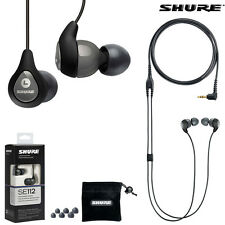 Shure SE112 GR Sound Isolating Earphones Headphones Earbuds l Authorized Dealer
