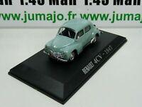 RE68G voiture 1/43 NOREV : RENAULT 4CV 1947