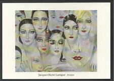 Jacques Henri Lartigue : cartolina invito a Mostra del 1994 a L'Isle-Adam