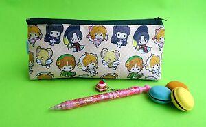 Card Captor Sakura Pencil case School Zipper Pouch Anime Shyaoran Kero