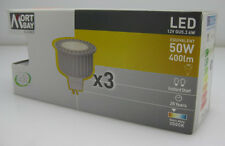 Mort Bay 6W LED Globe GU5.3 Equivalent to 50W 400lm Warm white 3000k Triple Pack