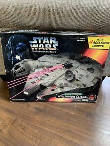 Kenner Star Wars The Power of The Force Electronic Millennium Falcon Vehicle NEW